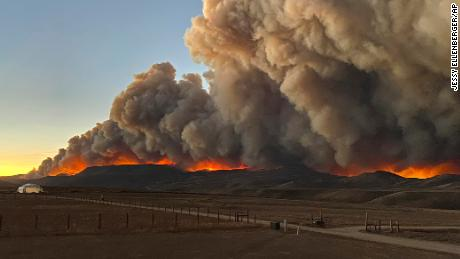 Residents in and around a gateway town to Rocky Mountain National Park evacuated and the park was closed due to the East Troublesome Fire.