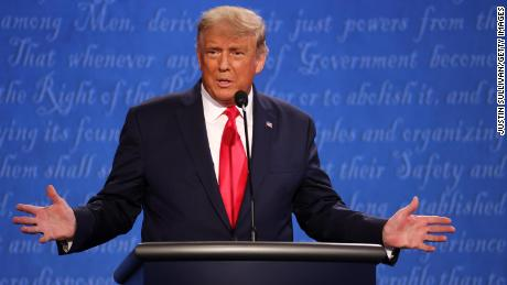 US President Donald Trump said during the the final presidential debate on October 22, 2020, that nobody had been tougher than him on Russia.