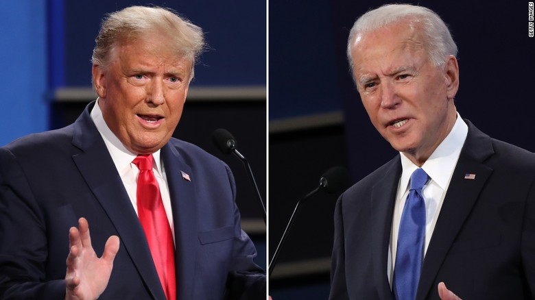CNN Poll: Biden wins final presidential debate