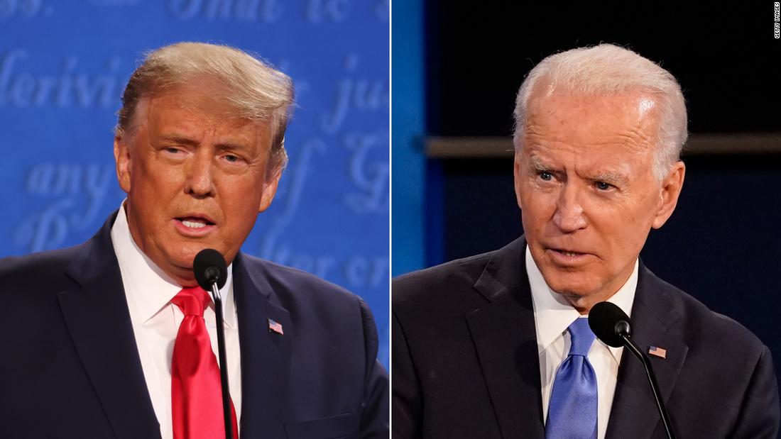 Trump seizes on one Biden debate comment