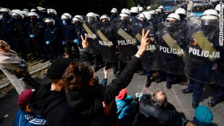 Poland moves to near-total ban on abortion, sparking protests