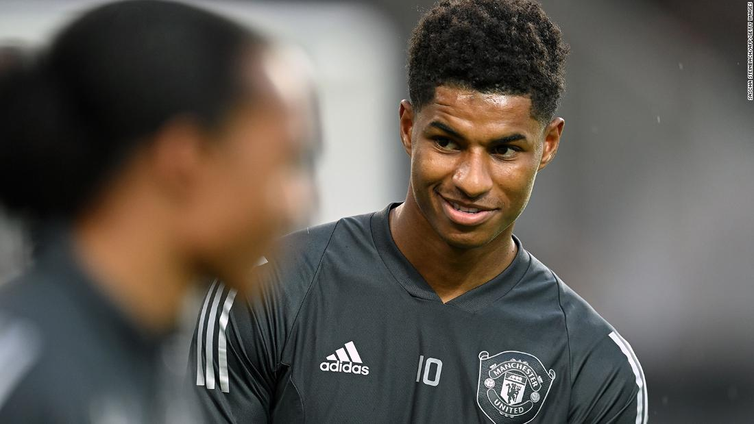 Manchester United star takes UK child poverty policy into his own hands