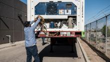 El Paso funeral homes prepare refrigerated units to house bodies as Covid-19 cases in the Texas city soar