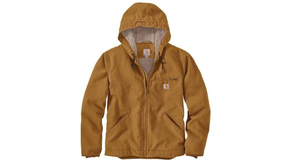 Carhartt Washed Duck Sherpa-Lined Jacket