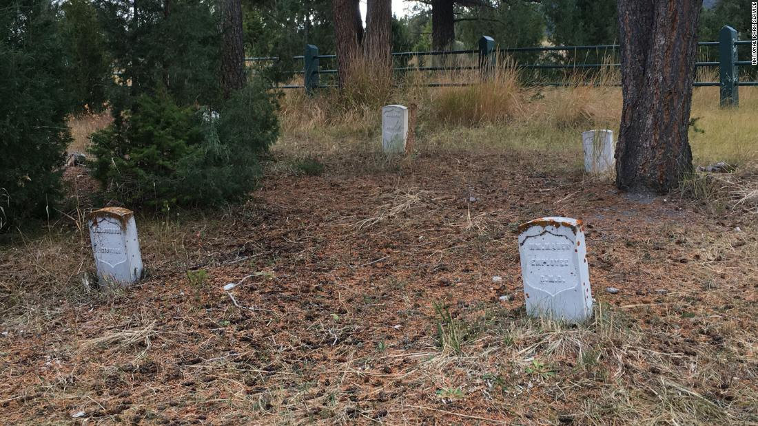 A treasure hunter is accused of damaging a cemetery in Yellowstone National Park while searching for hidden treasure