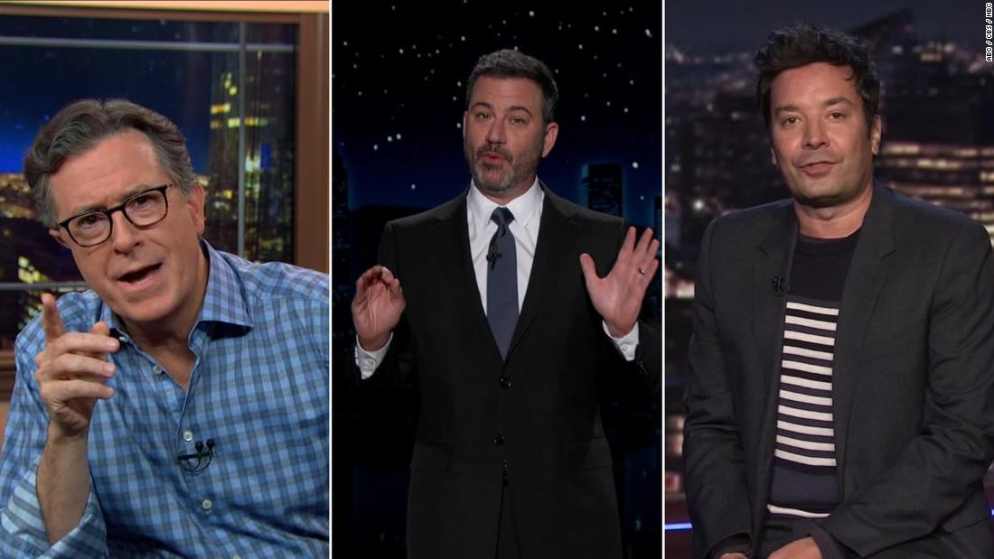 Late-night comedians give their take on the final debate