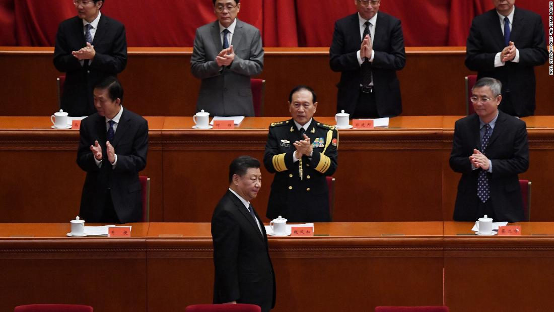 China's Xi Jinping delivers thinly veiled swipe at US