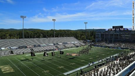 The Army-Navy football game will now take place at the Michie Stadium at West Point.