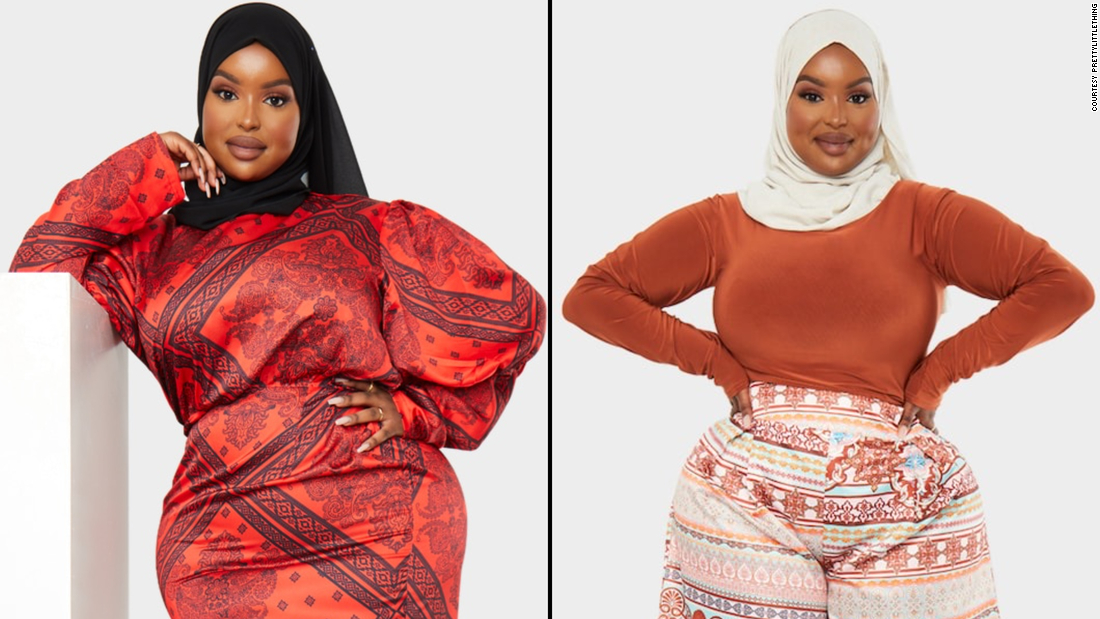 A Black, Muslim plus-size model is breaking barriers in the fashion industry after being chosen by PrettyLittleThing to model its new line of modest clothing.
