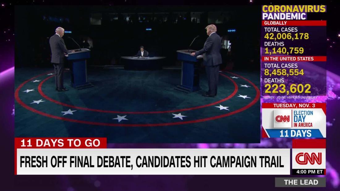 Fresh off debate, Trump & Biden campaign strategies reflect divide on coronavirus