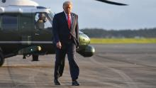 As coronavirus cases hit daily record, Trump tries to reframe race about oil