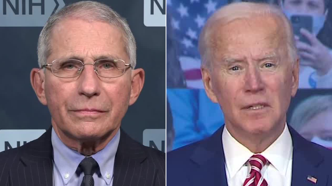 See what Dr. Fauci thinks about Biden