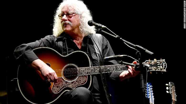 Folk singer Arlo Guthrie says he's retiring after health setbacks