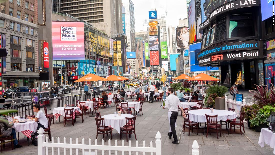 A New Yorker's guide to dining out safely during the pandemic