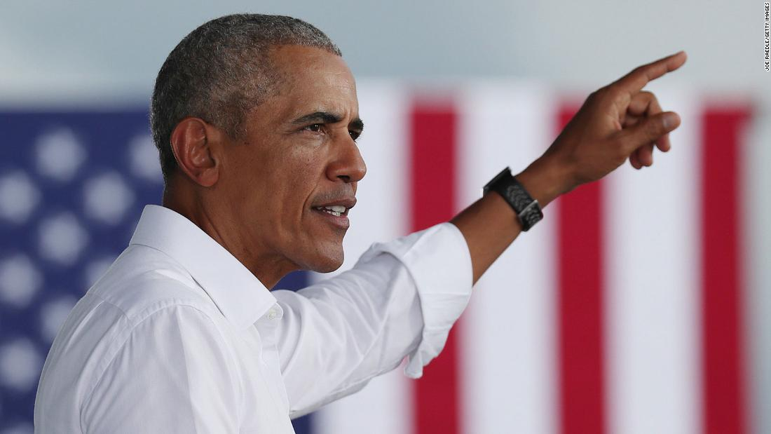 Obama to join Biden on campaign trail for final weekend push - CNN