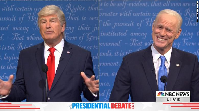 'SNL' takes on the final presidential debate