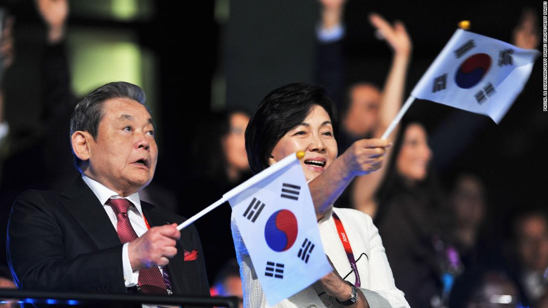 Lee Kun-hee, the chairman of South Korean electronics giant Samsung, died Sunday at the age of 78, the company said