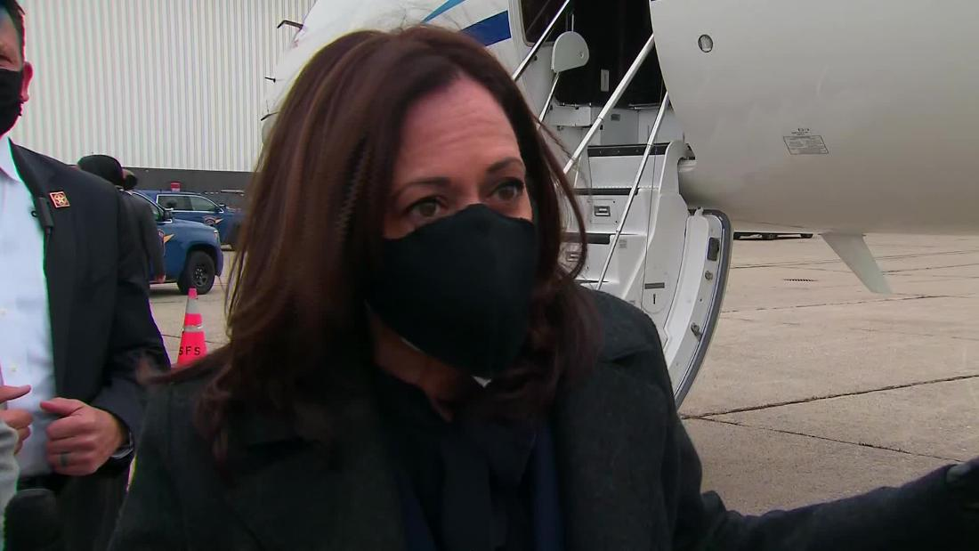 See how Kamala Harris repsonded to White House admission on pandemic