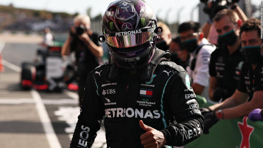 Lewis Hamilton breaks Michael Schumacher's all-time F1 win record