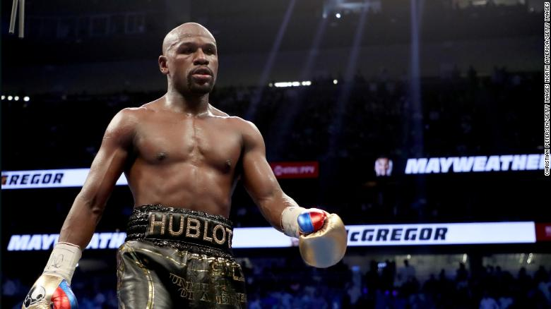 Floyd Mayweather Jr Vs Logan Paul Boxing S Bastardization Continues Apace Cnn