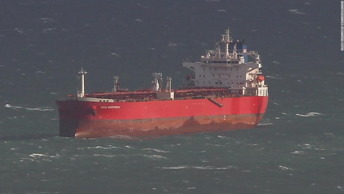 British forces storm oil tanker that was 'subject to suspected hijacking' off Isle of Wight