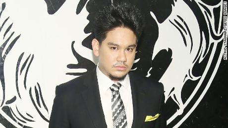 Prince Azim of Brunei at a Versace event in New York in 2013.