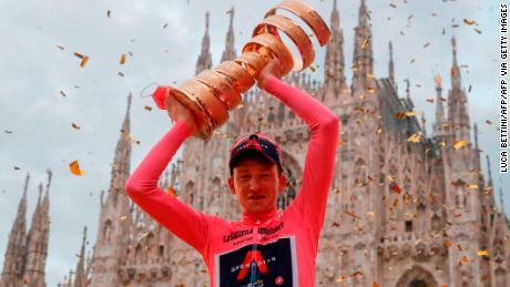 Geoghegan Hart is the second British rider to win the Giro.