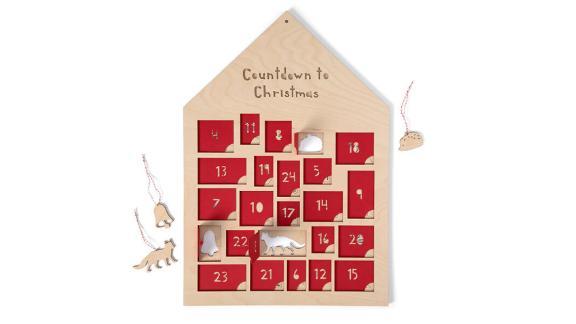 Countdown to Christmas Advent Ornament Calendar