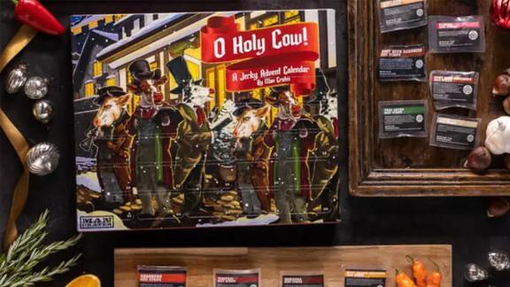 O Holy Cow! A Jerky Advent Calendar