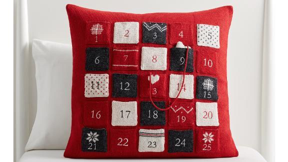 Fair Isle Advent Calendar Pillow
