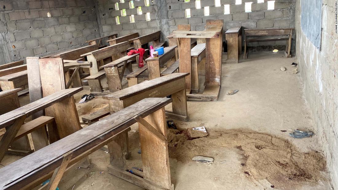 Gunmen kill children in attack on school in Cameroon