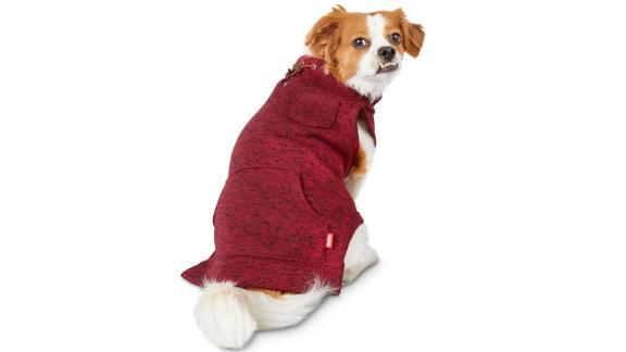 Reddy Burgundy Turtleneck Dog Sweater