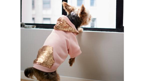 Frisco Sequined Dog & Cat Hoodie