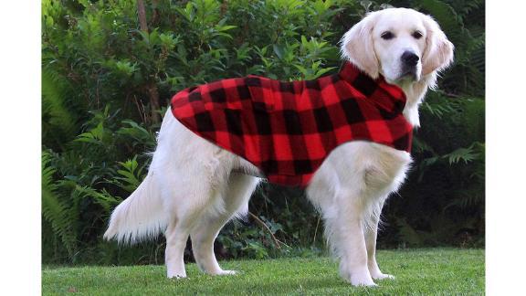 Asenku Plaid Reversible Dog Vest