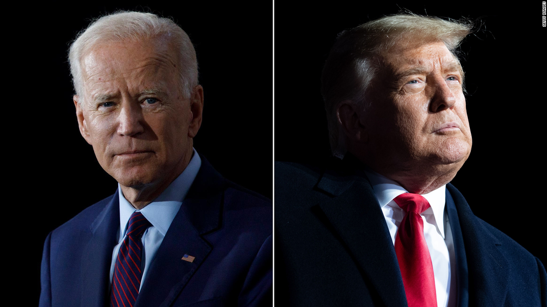 Biden makes play for red states in final days of campaign as Trump narrows his focus