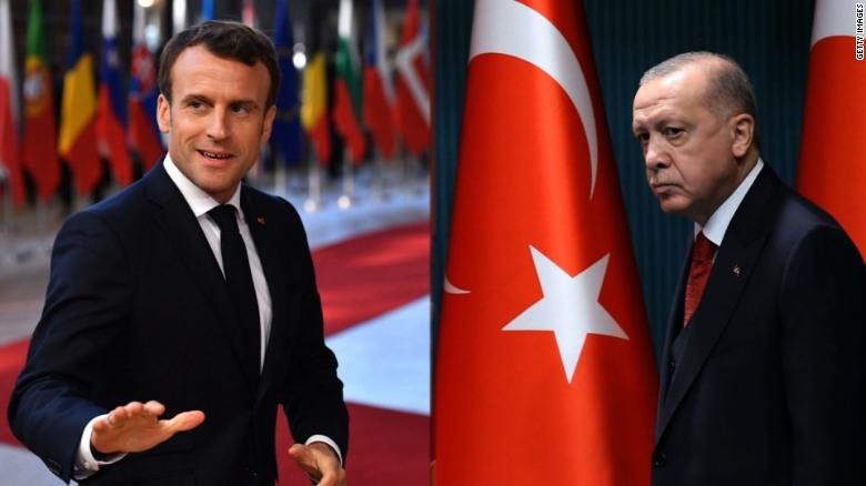 Erdogan and Macron clash over Turkish leader's comments on Muslims in France  - CNN