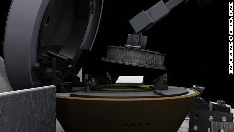 Un vaisseau spatial de la NASA stockera un échantillon d'astéroïde pour l'empêcher de fuir dans l'espace