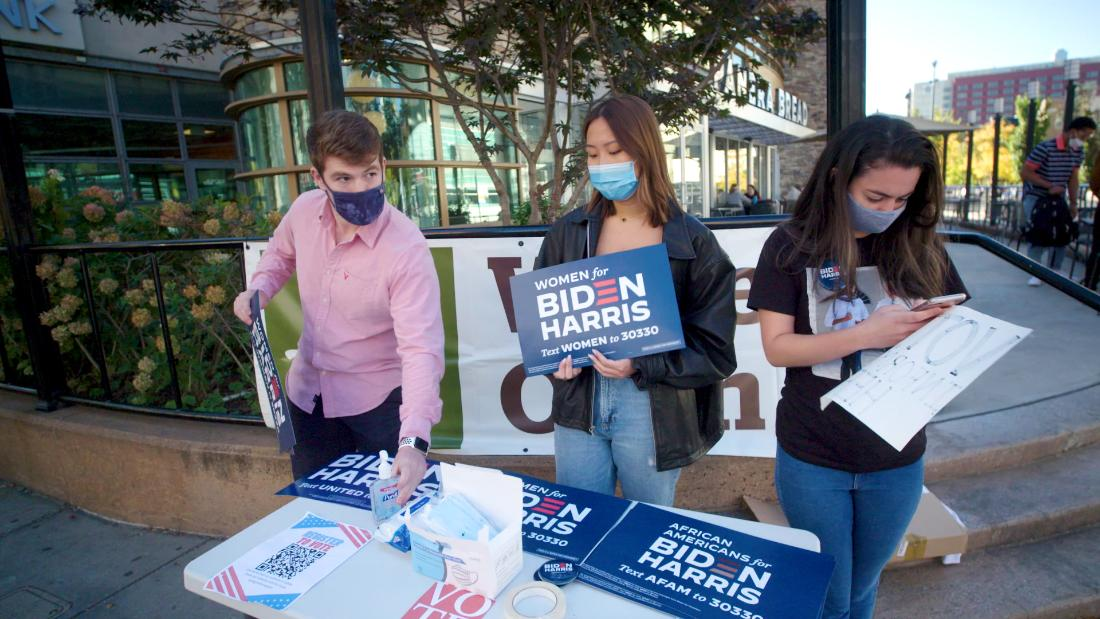 This is how American students are getting out the vote