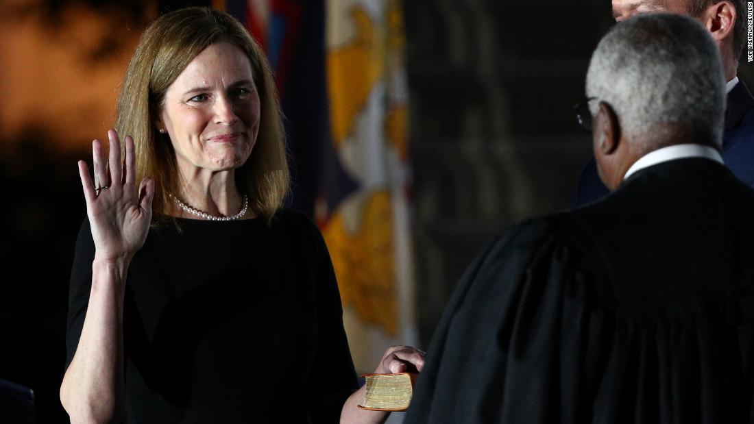 Senate confirms Trump's Supreme Court nominee