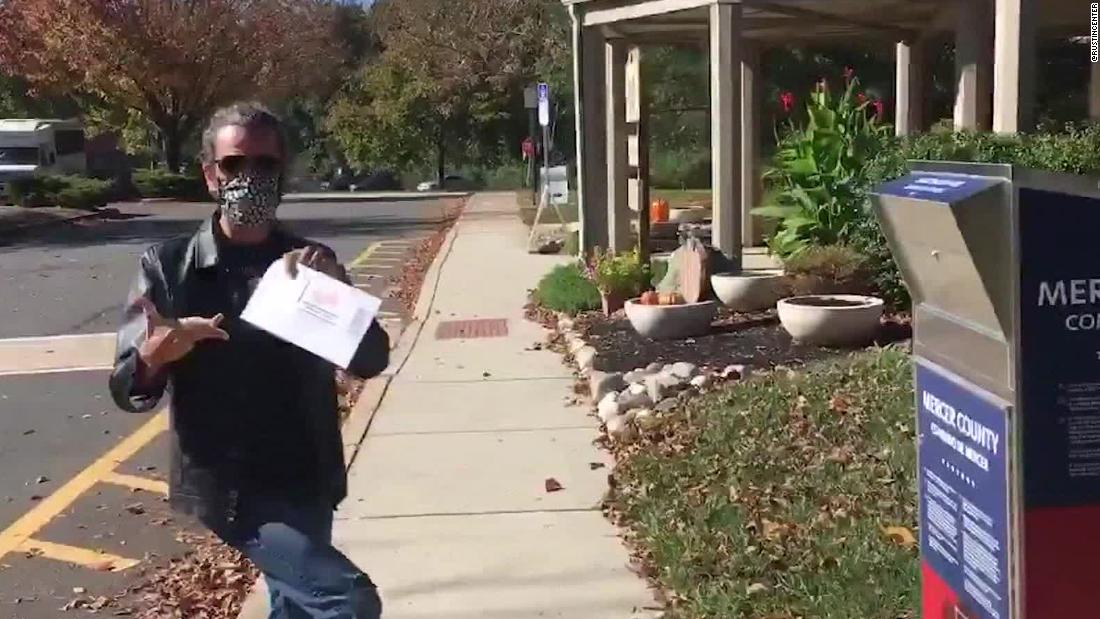 These voters are dancing their way to the polls