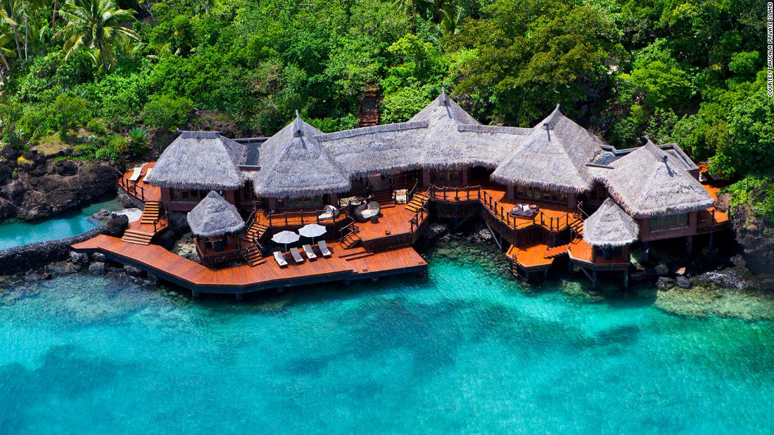 Fiji resort offers the ultimate in social distancing
