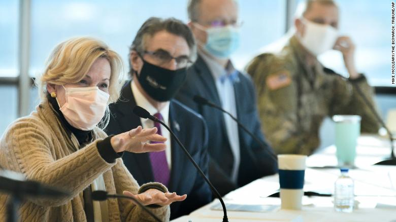Birx cedes White House turf to Atlas while hitting the road to spread her public health gospel