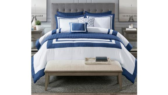 Madison Park Heritage 8-Piece Comforter and Coverlet Set Collection