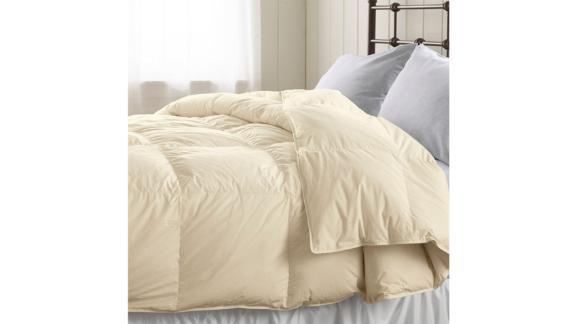 Baffle-Box-Stitch Goose Down Comforter