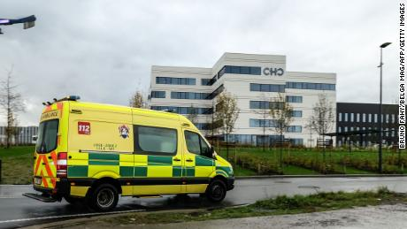 The outbreak is so bad in Belgium, some Covid-positive health workers are being asked to keep working
