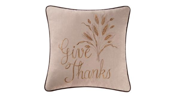 C&F Home Give Thanks Pillow