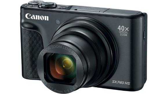 Canon PowerShot SX740 HS 20.3-Megapixel Digital Camera