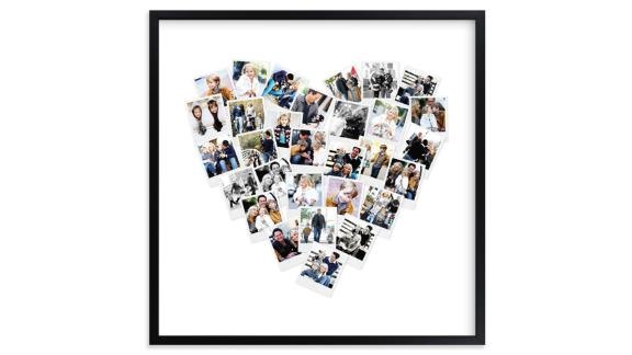 Heart Snapshot Mix Print