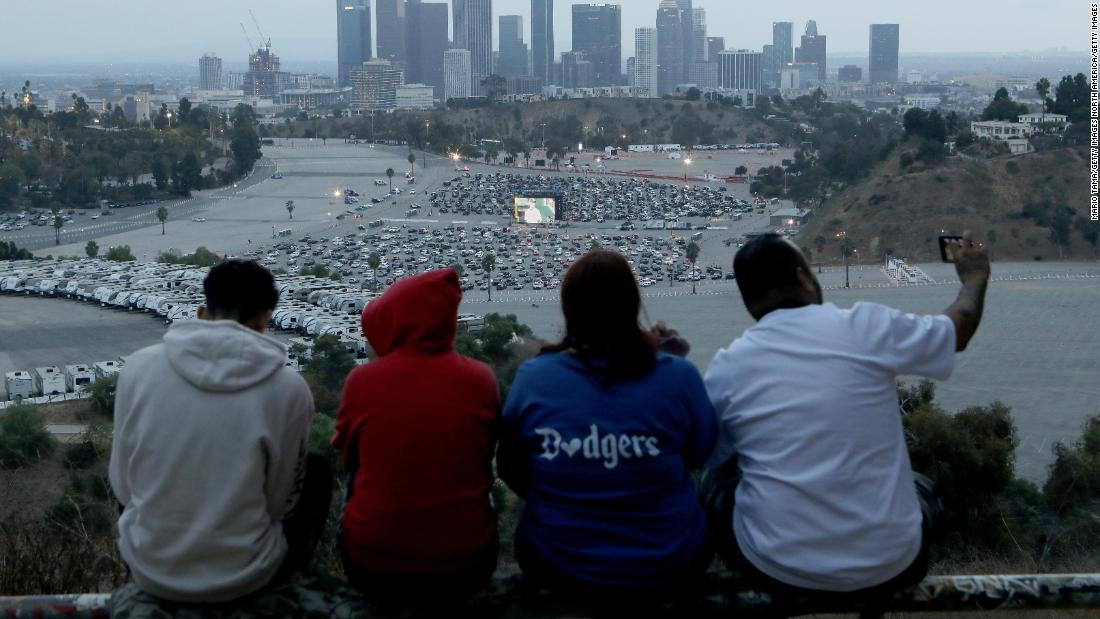LA sports fans may be contributing to spike in Covid-19 cases, says health official