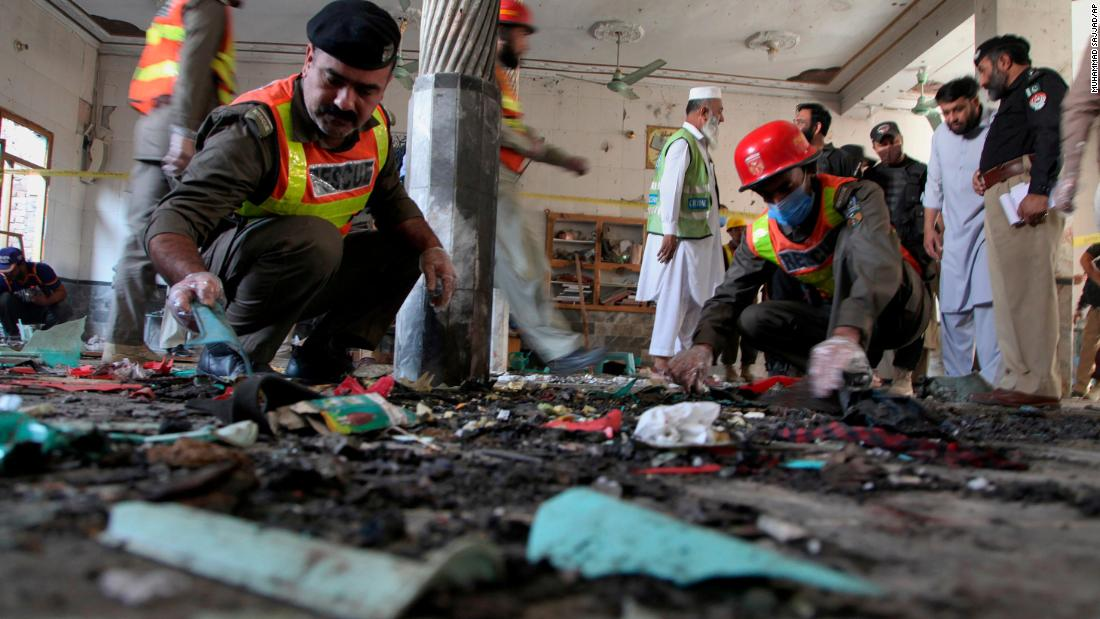 At least 7 dead after blast at religious school in northern Pakistan